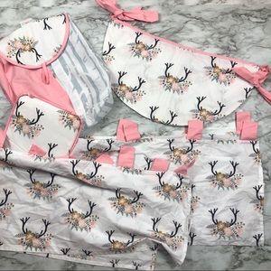 Baby girl nursery room bundle